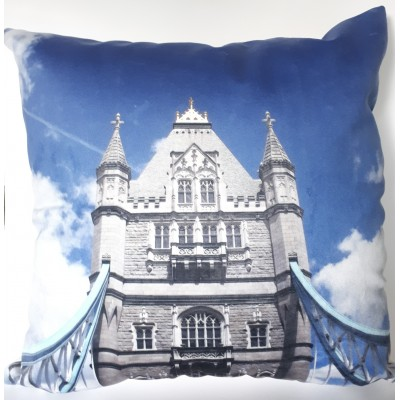Coussin '' Tower Bridge''  - 18 x 18
